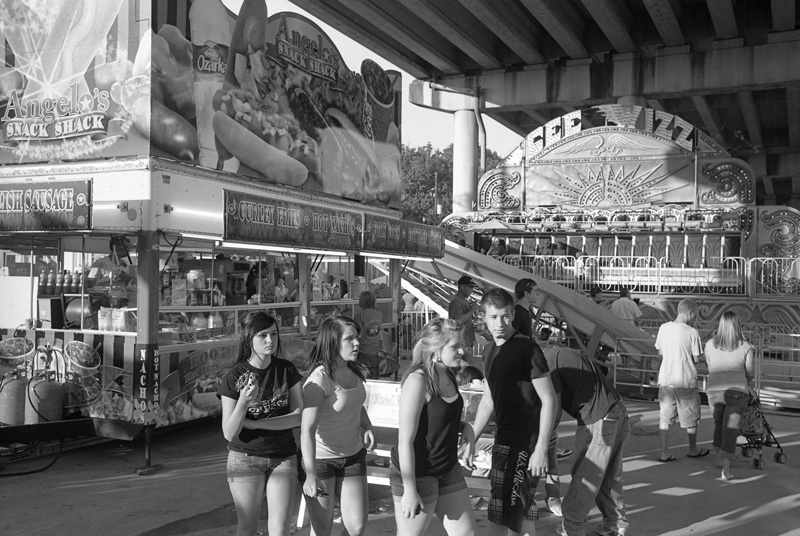 Teens at Carnival, Morgan City, Louisiana, 2010