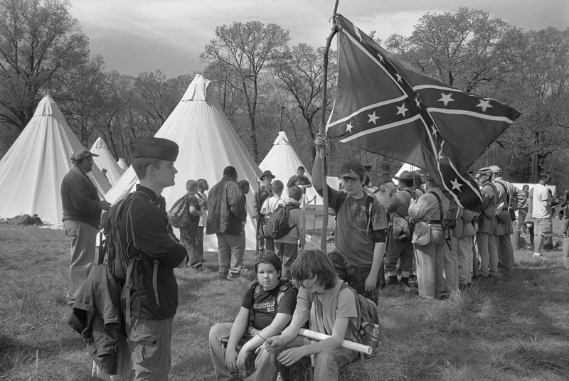 Boy Scouts, Shiloh National Battlefield, Tennessee, 2009
