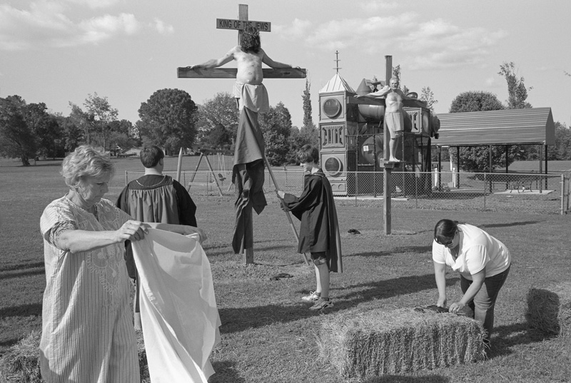 Good Friday Crucifixion, Scottsboro, Alabama, 2012