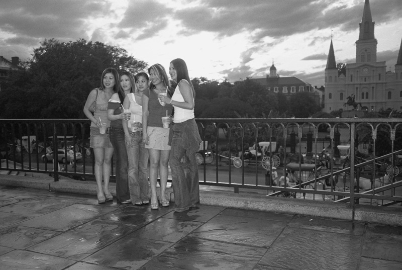 Jackson Square, New Orleans, Louisiana, 2004