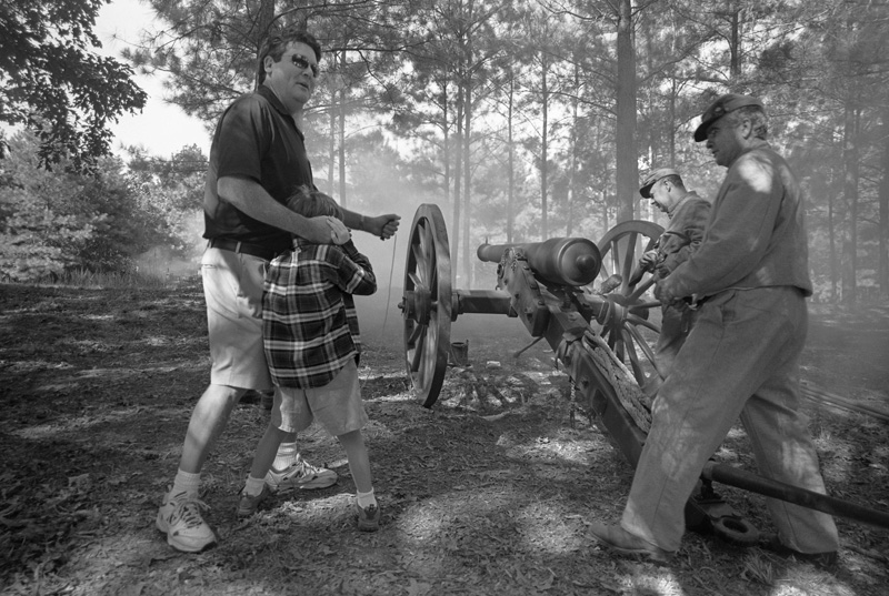 Civil War Artillery, Benton County, Mississippi, 2009
