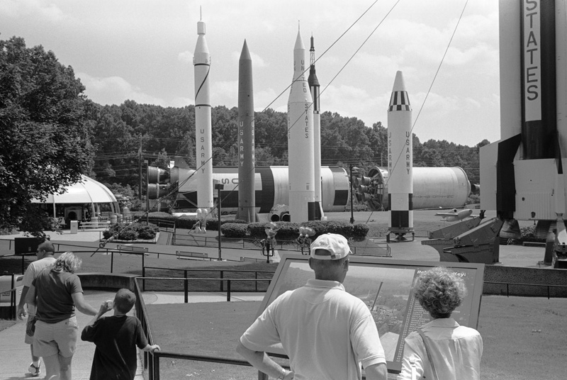 Rockets, US Space & Rocket Center, Huntsville, Alabama, 2004